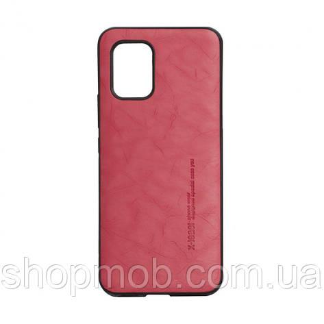 Чохол Leael Color for Xiaomi Mi 10 Lite Колір Червоний, фото 2