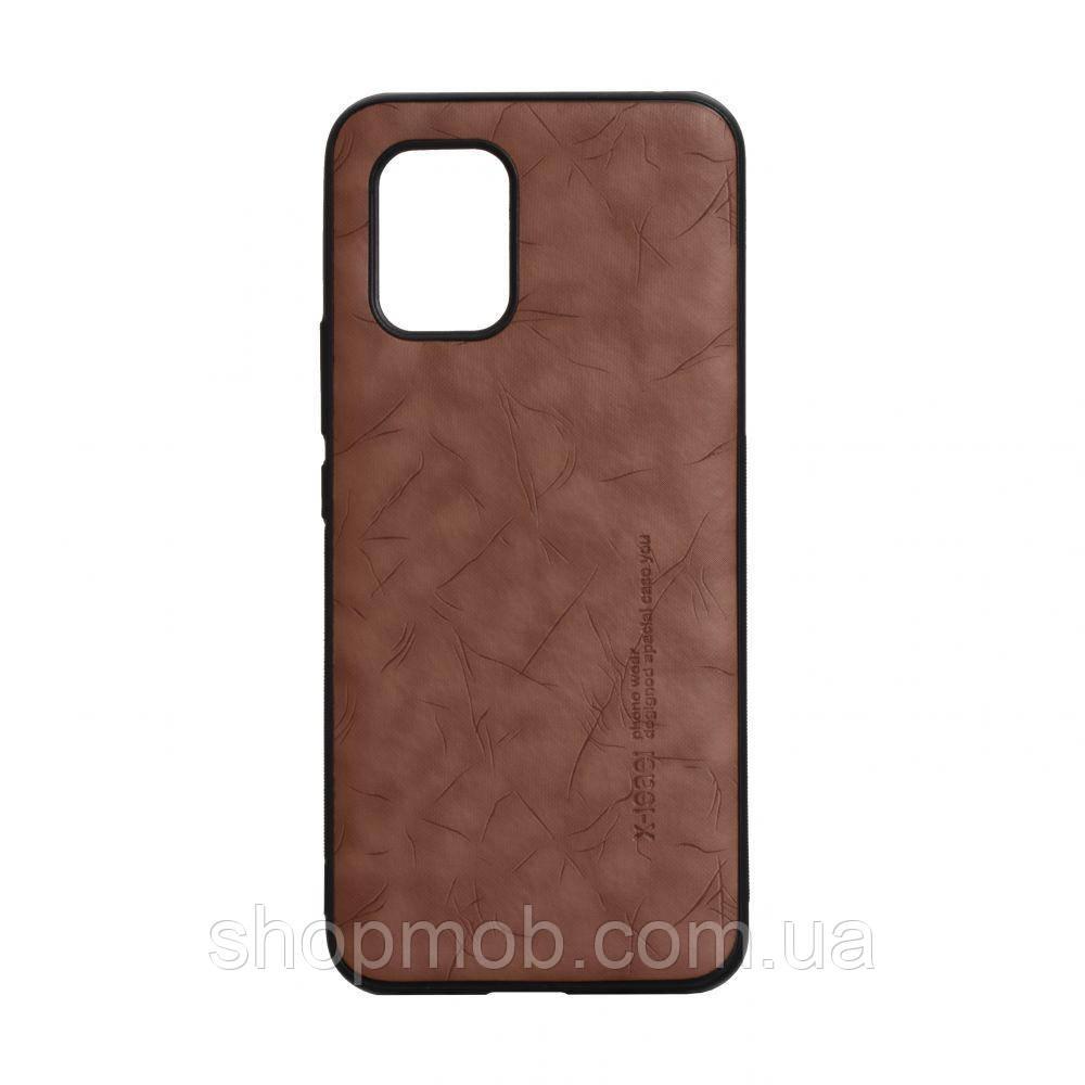 Чехол Leael Color for Xiaomi Mi 10 Lite Цвет Коричневый