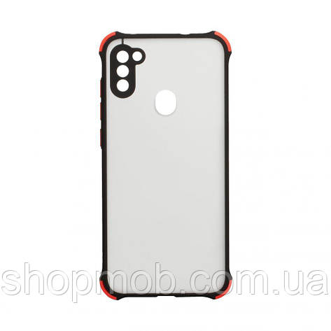 Чохол Armor Frame for Samsung A11 / M11 Колір Чорний, фото 2