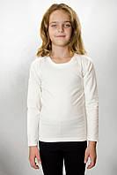 Термокофта детская для девочки JIBER Poly Thermal, белая (молочная) 30 (110-116)