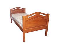 """Кровать """"Элит"""" односпальная из ясеня"""