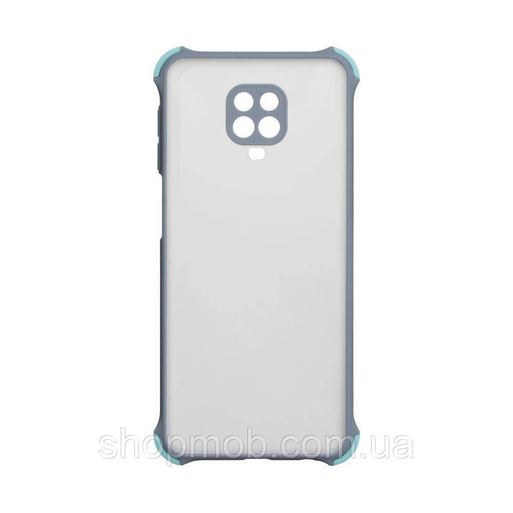 Чехол Armor Frame for Xiaomi Redmi Note 9s / Pro / Max Цвет Серый