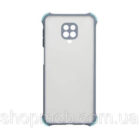 Чехол Armor Frame for Xiaomi Redmi Note 9s / Pro / Max Цвет Серый, фото 2