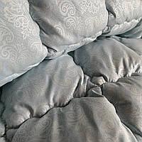 Одеяло зимнее Евро размер 200*220 см. стеганое на холлофайбере ODA | Ковдра ОДА наповнювач холлофайбер