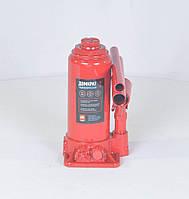 Домкрат бутылочный, 6т пластик, красный H=200/385 (арт.JNS-06PVC)