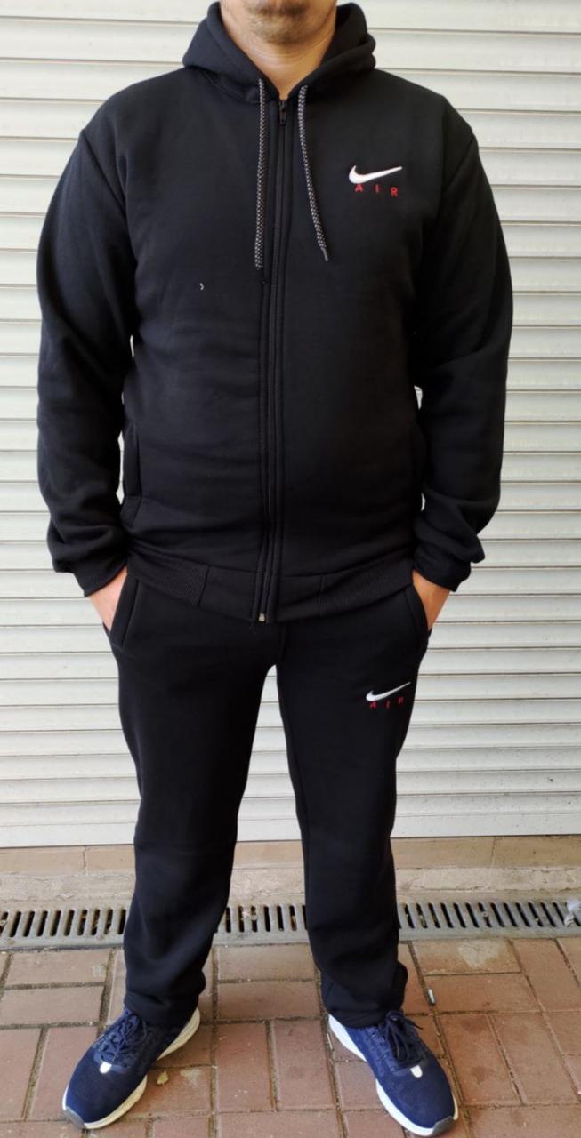 Чоловічий спортивний костюм на флісі Батал