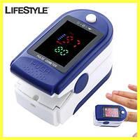 Пульсометр беспроводной Fingertip Pulse Oximeter LK87 / Пульсометр оксиметр на палец