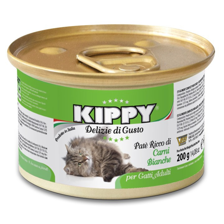 Паштет для кошек KIPPY, белое мясо 200 г