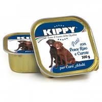 Паштет для собак KIPPY, рыба, рис, морковь 300 г