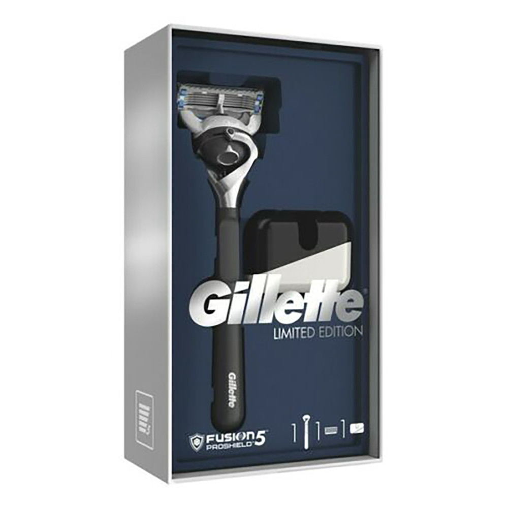 Набір Gillette Fusion 5 ProShield Limited Edition (бритва + підставка) (7702018480579)