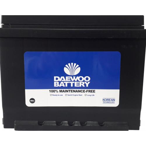 Аккумулятор DAEWOO 62Ah 550A L 56220 SMF