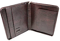 Чоловіча ділова папка для документів А4 зі штучної шкіри Exclusive 710600 коричнева