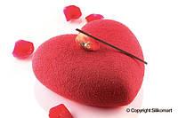 """Силиконовая форма для десертов Silikomart """"Amore"""" 142x137mm.h=50mm (Италия) (04435)"""