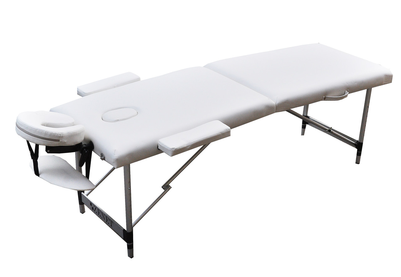 Стіл для масажу переносний, WHITE, розмір L, ZET-1044 ZENET