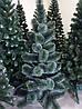 Елка искусственна СОСНА 1.55 м. елка новогодняя заснеженная с подставкой, фото 4