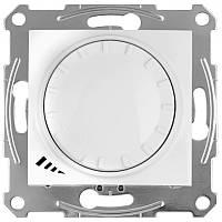 Светорегулятор LED поворотно-нажимной универсальный 230 В 4-400 Вт/ВА Белый Sedna SDN2201221