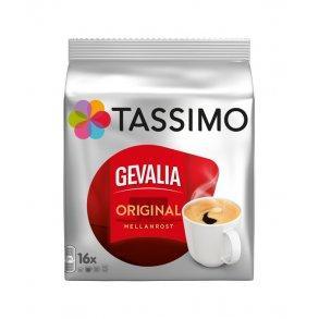 Кофе в капсулах Tassimo Gevalia Original Mellanrost 16 порций. Германия Тассимо