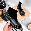Ботинки женские черные на зиму, фото 2