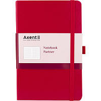 Книга записная Partner А5 Красный стандарт(12,5 х 19,5см) 8201-03-A