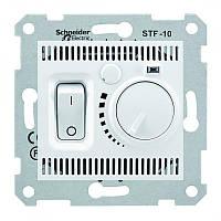 Термостат для теплого пола 10 A - 230 В  с температурным датчиком 4 м Белый Sedna SDN6000321