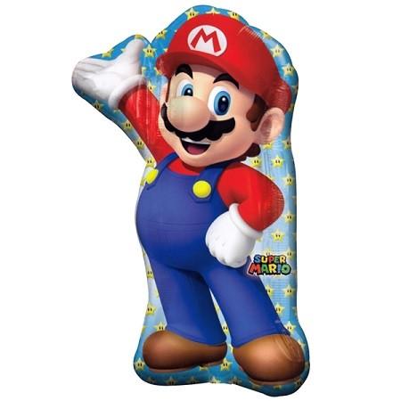 """А 33"""" Super Mario Bros Jumbo Balloon. Шар фольгированный Супер Марио"""