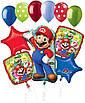 """А 33"""" Super Mario Bros Jumbo Balloon. Шар фольгированный Супер Марио, фото 2"""