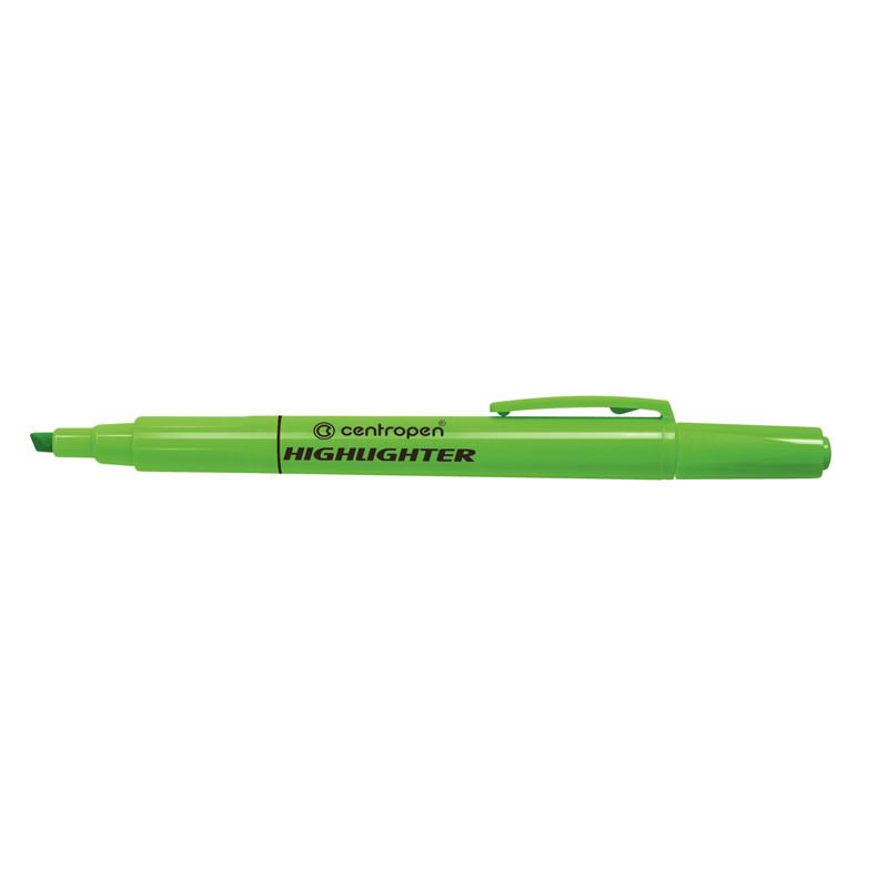 Маркер Centropen  Fax 8722 1-4 мм клинообразный зеленый