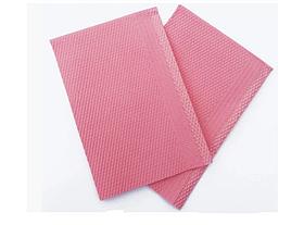 Салфетка нагрудник стоматологическая Розовая 50 шт