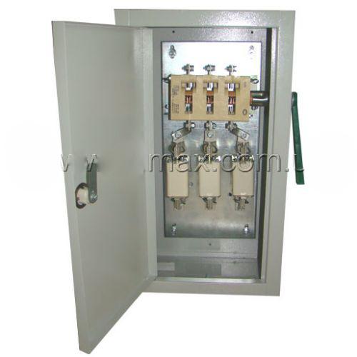 Ящики розриву ЯРП укомплектовані рубильниками і запобіжниками BILMAX