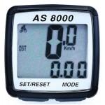 Велокомпьютер беспроводной  ASSIZE AS 8000