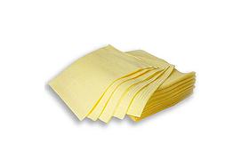 Серветка нагрудник стоматологічна Жовта 50 шт