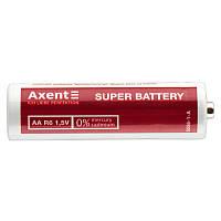 Елемент живлення AXENT АА R6 1.5V, 4 шт.(сольовий)