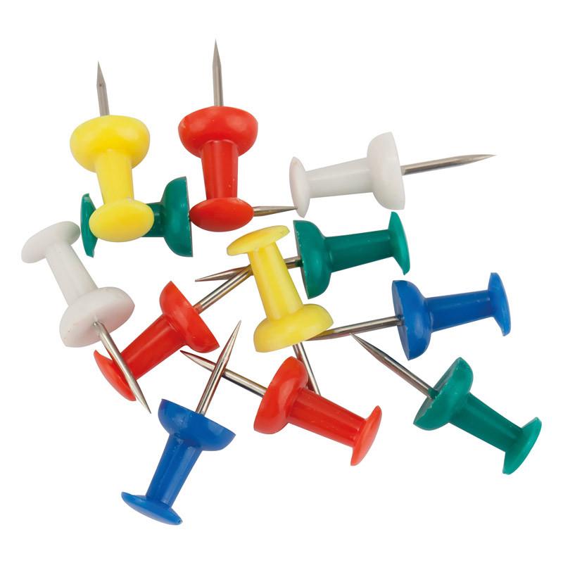 Кнопки-цвяшки кольорові, 30 шт.