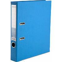 Папка-регистратор Axent Prestige+ A4 с двусторонним покрытием, 5 см, голубая