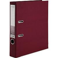 Папка-регистратор Axent Prestige+ A4 с двусторонним покрытием, 5 см, бордовая