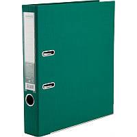 Папка-регистратор Axent Prestige+ A4 с двусторонним покрытием, 5 см, зелёная
