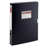 Папка-коробка Axent 36 мм, черная        , фото 1