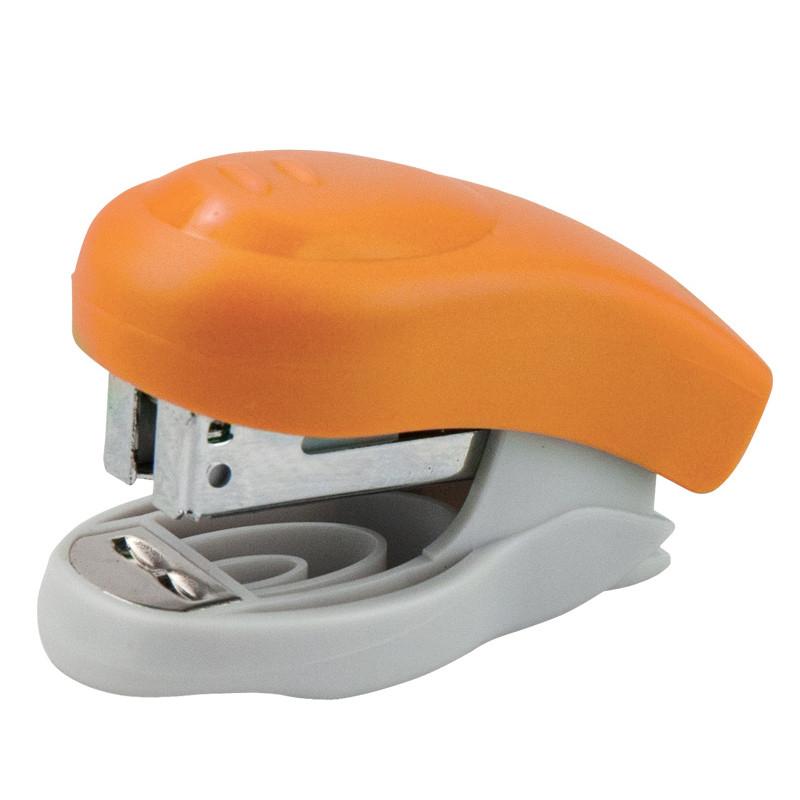 Степлер Axent Welle-2 пласт., №24 / 6 10 л., Оранжевый 4811-12-A