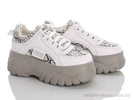 Подростковые кроссовки на массивной подошве (один размер,40) деми эко-кожа