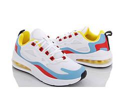 Жіночі кросівки кольорові на танкетці, текстиль демі повномірні 37