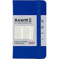 Щотижневик 2021 Pocket Strong, 90*150, класичний синій