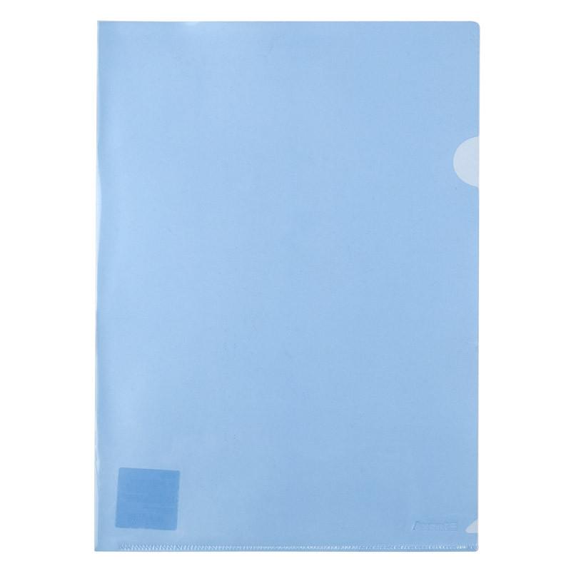 Папка-уголок Axent 1434-22-A, А4, синяя
