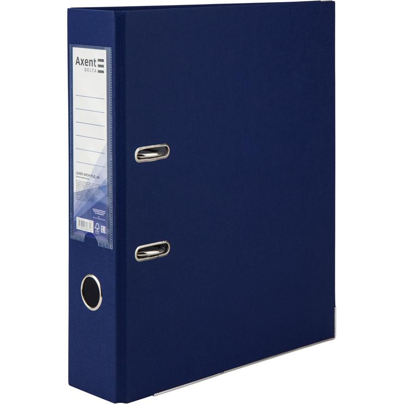Папка-регистратор Delta одностор. PP 7,5 см, разобрать, синяя