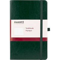 Книга записна Axent Partner Lux, 125*195, 96арк, кл, зел 8202-04-A