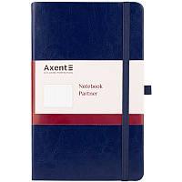 Книга записна Axent Partner Lux, 125*195, 96арк, кл, син 8202-02-A