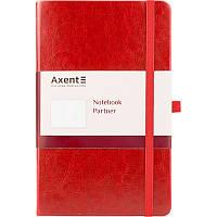 Книга записна Axent Partner Lux, 125*195, 96арк, кл, крас 8202-06-A