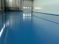 Окраска бетонных полов красками для бетонних полов на эпоксидной основе