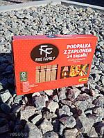 Разжигатель мини брикет спичка  TM FareFamily