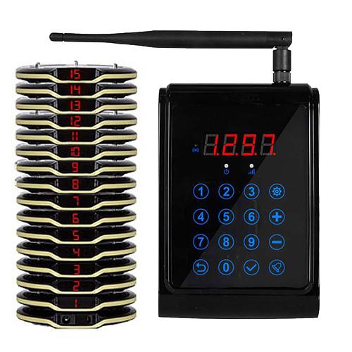 Система электронной очереди Coaster Pager RECS R-90-15 USA