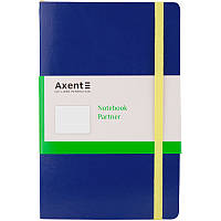 Книга записна Partner Flex, 125*195, 96арк, крап., синя